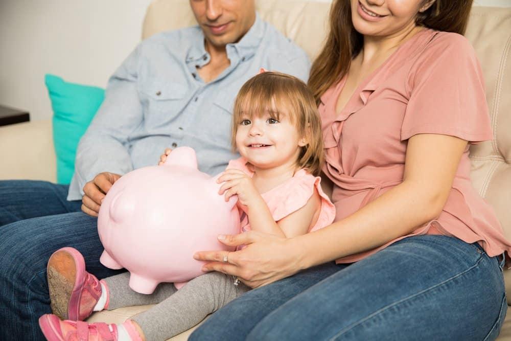 Sparen für Kinder mit dem Tagesgeldkonto