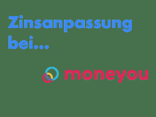 Zinsanpassung Moneyyou