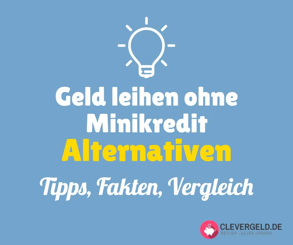 Alternativen zum Minikredit